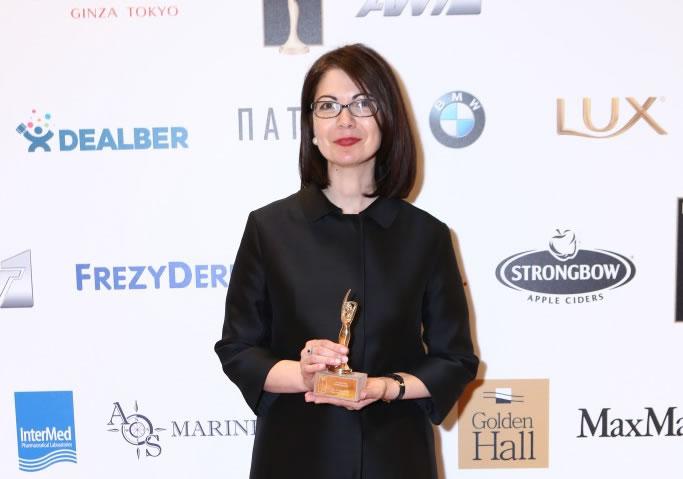 Woman of the Year: Alexandra Touroutoglou
