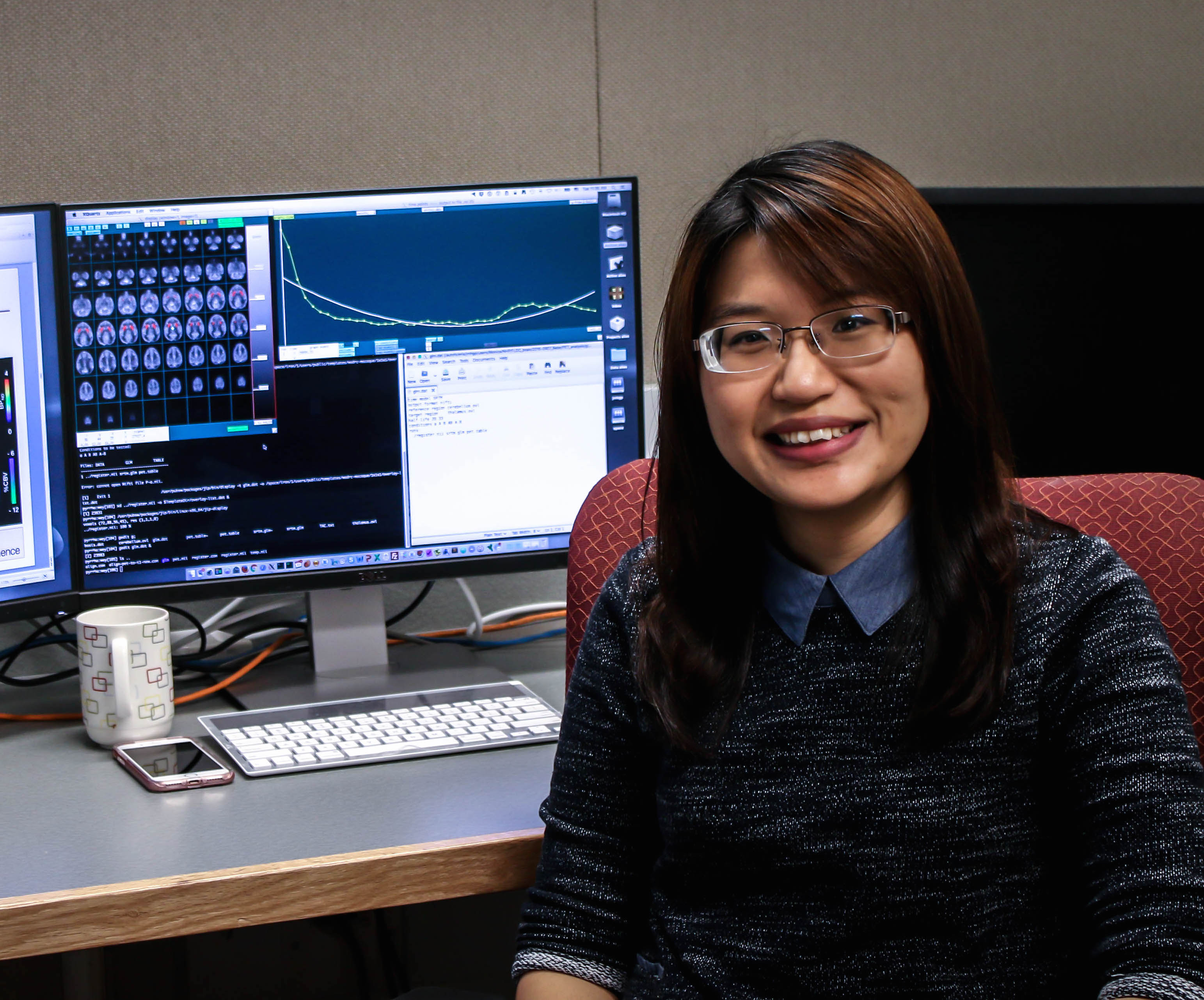 Hsiao-Ying Wey Receives 2016 New Investigator Award in Alzheimer's Disease