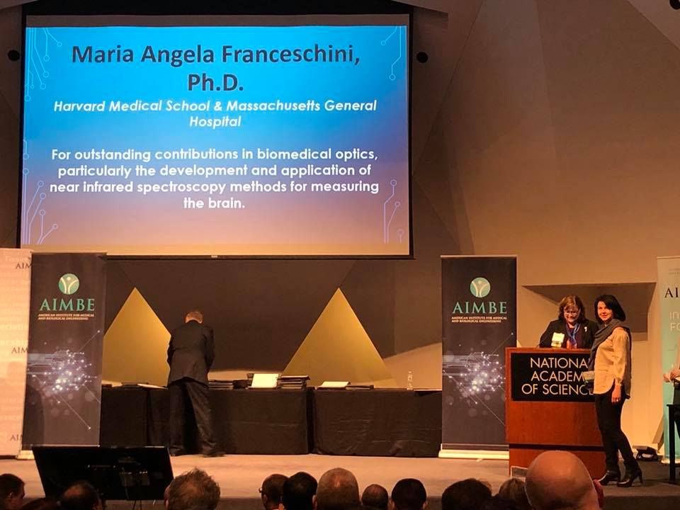 Maria Angela Franceschini Inducted into Medical and Biological Engineering Elite