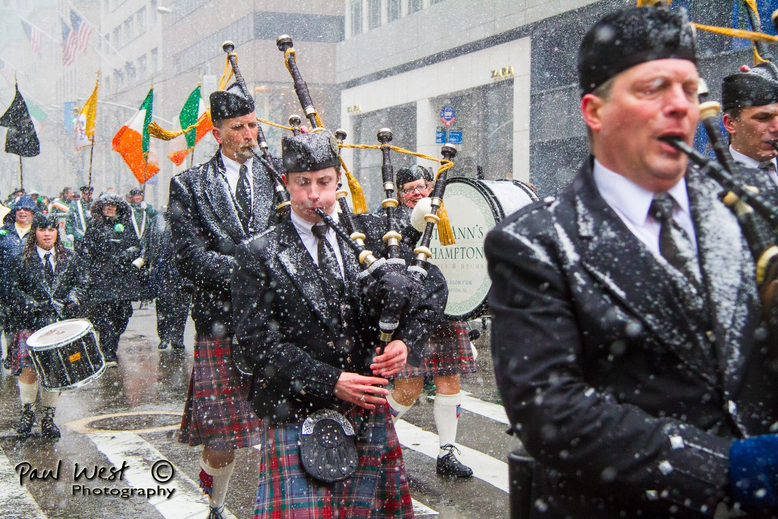 The Secret Lives of Martinos Folk: Kevin Dowling, Bagpiper in the Big City